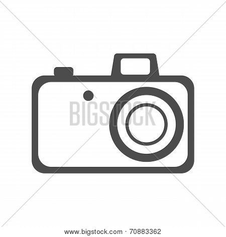 Element For Web Design. Photo Camera.