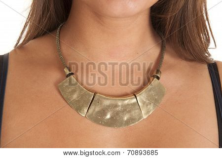 Think Gold Necklaceq