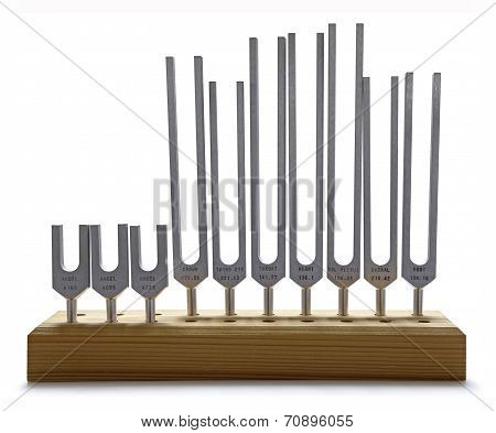 Sound therapy tuning forks