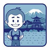 stock photo of mount fuji  - Teaser with photographer travels through Japan - JPG