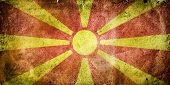 image of former yugoslavia  - flag of Macedonia - JPG