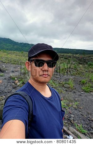 Expedition - man talking a selfie