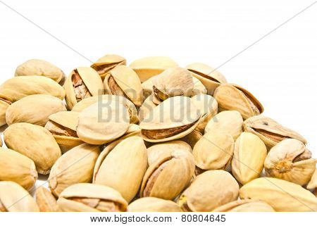 Heap Of Roasted Pistachios