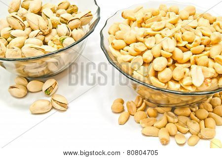 Two Dish With Different Nuts