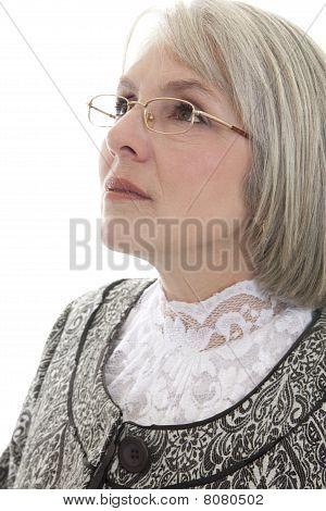 Serious Mature Woman
