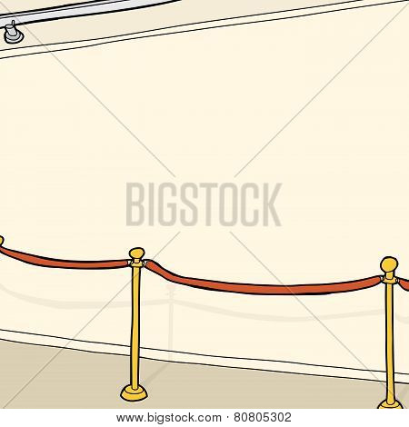 Stanchion In Room