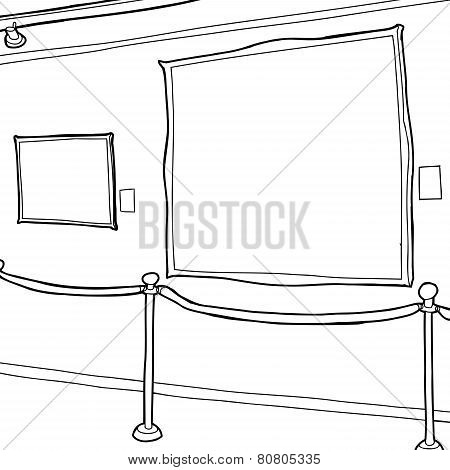Art Gallery Frames Outline