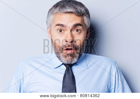 Surprised Businessman.
