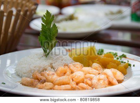 Cuban Cuisine: Canchanchara Shrimps