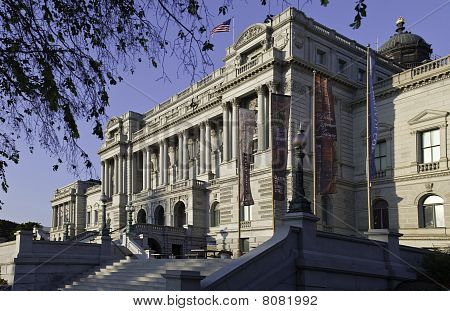 Library Of Congress, Washington, Dc