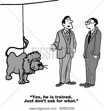Training Cartoon