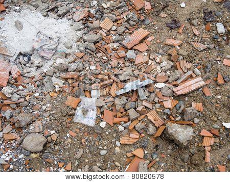 Debris On The Ground