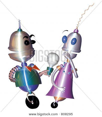robot cuple