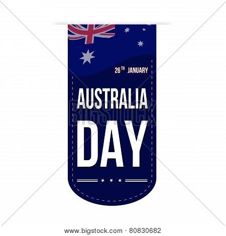 Australia Day Banner Design