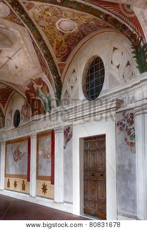 Frescoes At Villa Lante