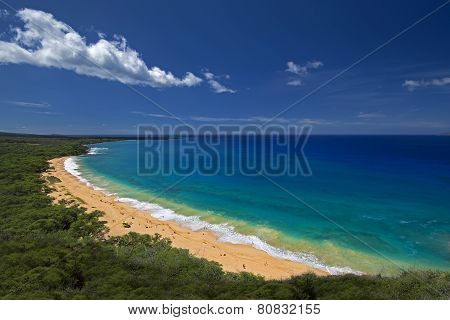 Big Beach, Oneloa Beach, south Maui, Hawaii, USA