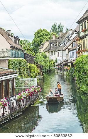 Little Venice In Colmar, France