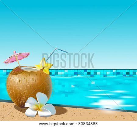Coconut coctail