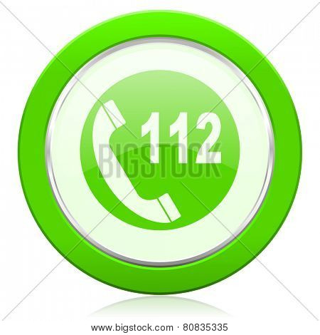 emergency call icon 112 call sign