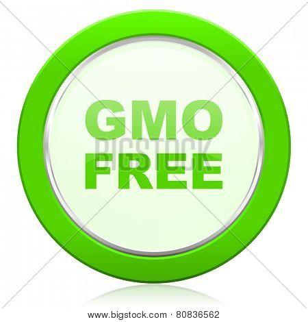 gmo free icon no gmo sign