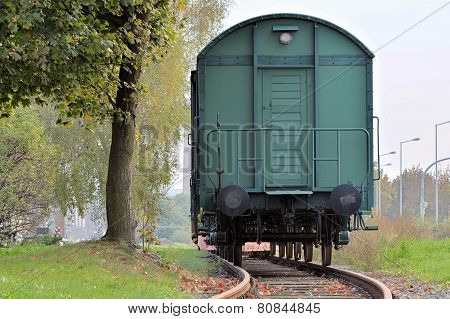 railroad car