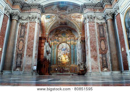Basilica Of Santa Maria Degli Angeli E Dei Martiri In Rome