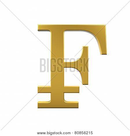 Swiss Franc Symbol