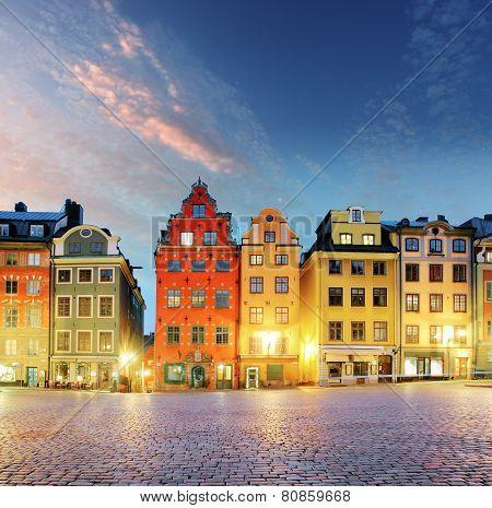 Stockholm - Stortorget Place In Gamla Stan