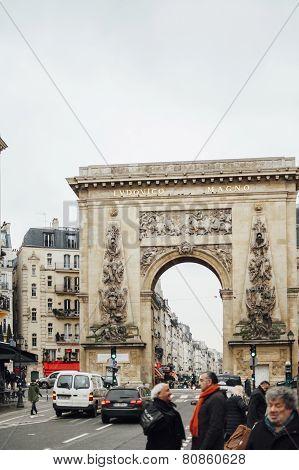 Porte Saint-denis - Ludovico Magno