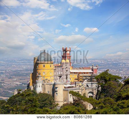 view of Palace da Pena