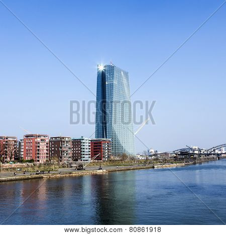 Ecb Building, Frankfurt, Germany