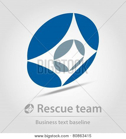 Rescue Team Business Icon