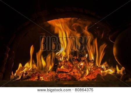 In The Furnace, The Fire Burns.