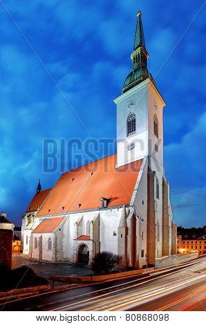 Slovakia - Bratislava Cathedral