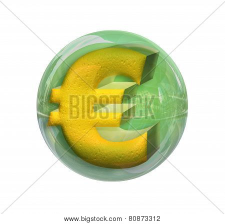 Euro In A Sphere