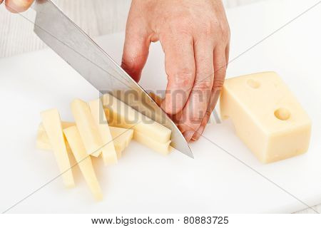 Cutting Food Ingredients