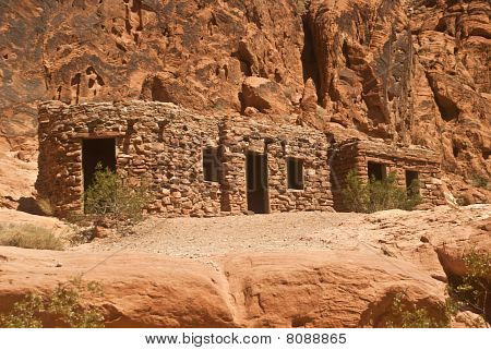 Old Stone Cabins