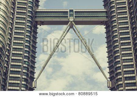 Kuala Lumpur,malaysia,december 18,2013:petronas Twin Towers, Kuala Lumpur, Malaysia