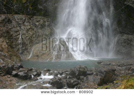 Arthur Pass Waterfall