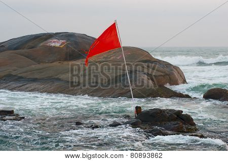 Kanyakumari, the southernmost point of India