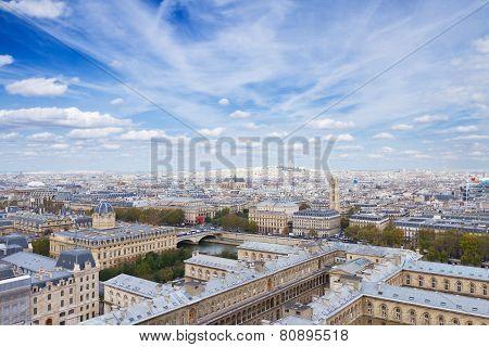 cityscape Mont Matre , Paris, France