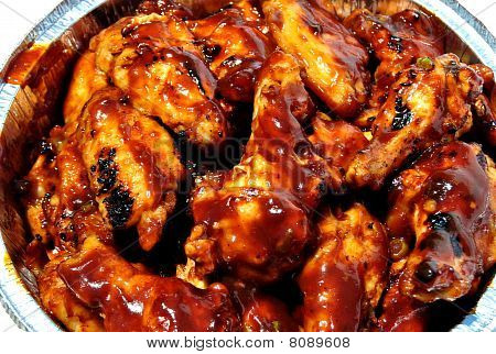 Spicy Barbeque Chicken Wings