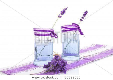 Organic Lavender Lemonade.