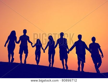 Friendship Togetherness Unity Friends Concept