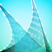 stock photo of pacific rim  - Turquoise Abstract Vector Background - JPG