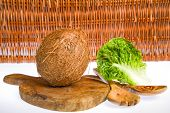 stock photo of significant  - Coconut is a significant and important crop - JPG