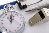 stock photo of stopwatch  - Close - JPG