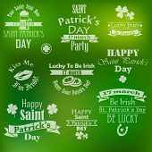 picture of saint patrick  - vector collection of saint patrick - JPG