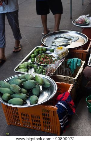 Mango Selling on the Stall