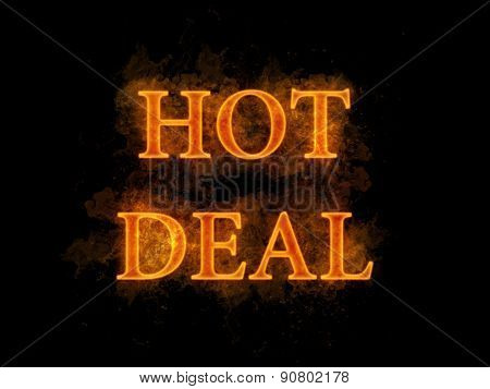 Hot deal fire text